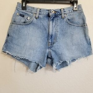Vintage Express Cut Off Shorts Size 5/6